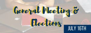 General Meeting and Elections @ Point Loma, CA