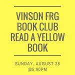 August Book Club - Read a Yellow Book! @ TBD
